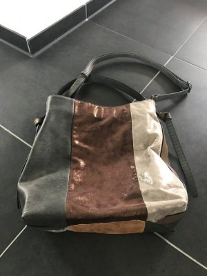 EMILY & NOAH  ausgefallene Handtasche Braun/Bronze/Gold