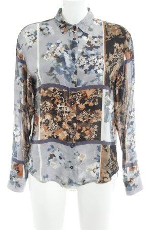 Emily van den Bergh Hemd-Bluse florales Muster Casual-Look