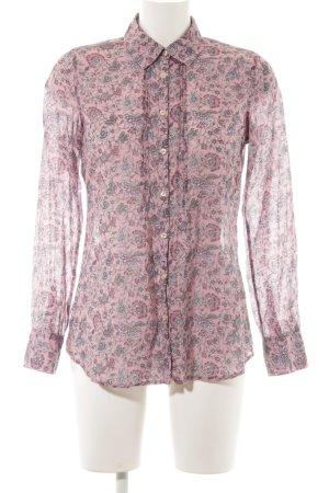 Emily van den Bergh Hemd-Bluse florales Muster Romantik-Look
