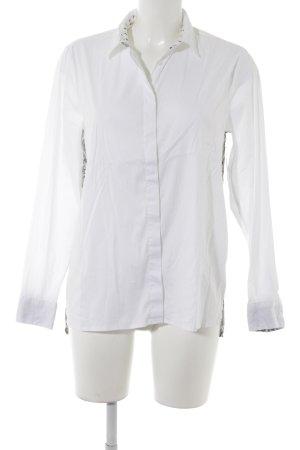 Emily van den Bergh Hemd-Bluse weiß Paisleymuster Casual-Look