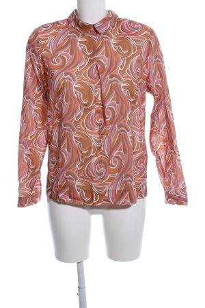 mehrere farben Tiefstpreis anerkannte Marken Emily van den Bergh Langarm-Bluse abstraktes Muster Casual-Look