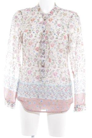 Emily van den Bergh Blusa de manga larga estampado floral elegante