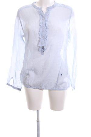 Emily van den Bergh Langarm-Bluse blau Casual-Look
