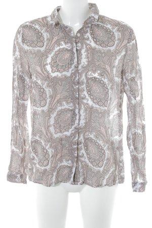 Emily van den Bergh Langarm-Bluse Paisleymuster 70ies-Stil