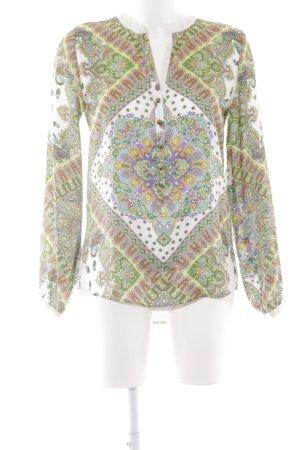 Emily van den Bergh Long Blouse flower pattern hippie style
