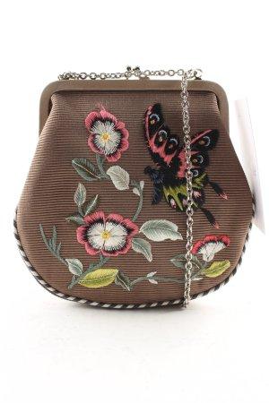 Emma Hope Minitasche florales Muster extravaganter Stil