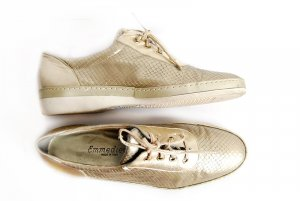 emmedieci designer sneakers made in italy gold 40 leder