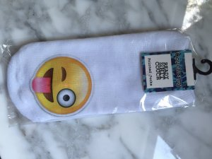 Emoji Socken Smiley - NEU