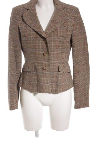 Emozioni Sweat Blazer beige-carmine striped pattern business style