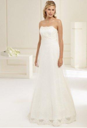 Empire Brautkleid Hochzeitskleid ivory gr. 36 Spitze & Tüll NEU