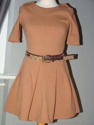 °°°Empire- Mini-Kleid, Nude,ZARA, 50`ties, M°°°