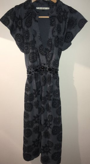 Uttam Boutique Robe empire bleu