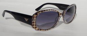 Emporia Armani Sonnenbrille  braun-schwarz gecheckert