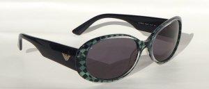 Emporia Armani Sonnenbrille grün-schwarz gecheckert