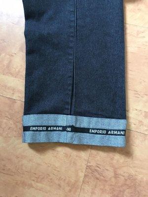 Emporio Armani Pantalón tobillero azul