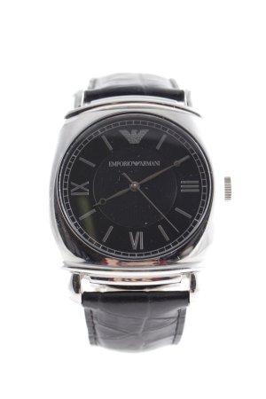 Emporio Armani Analog Watch black-silver-colored casual look