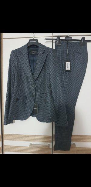 Emporio Armani Pantalon de costume multicolore
