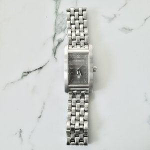 Emporio Armani Watch With Metal Strap silver-colored stainless steel