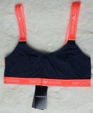 Emporio Armani Bra black-neon orange