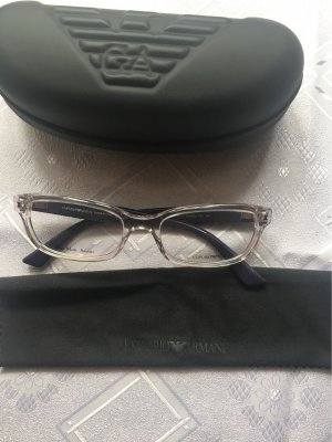 Emporio Armani Occhiale viola scuro-argento