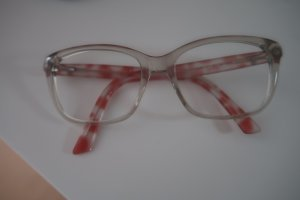 Emporio Armani Glasses white-brick red