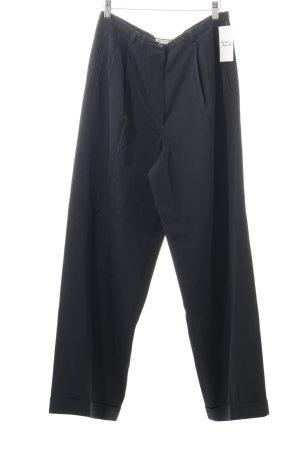 Emporio Armani Pantalon à pinces noir style d'affaires
