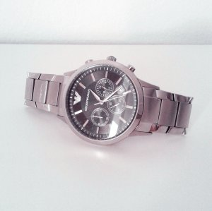 Armani Watch grey stainless steel