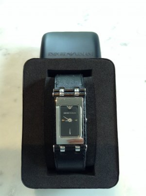 Armani Watch black-silver-colored