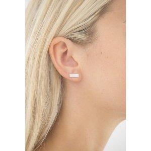 Emporio Armani Ear stud silver-colored