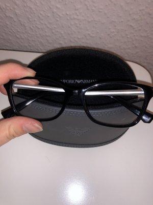 Emporio Armani Occhiale nero-argento
