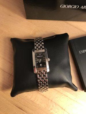 Emporio Armani Self-Winding Watch silver-colored-black