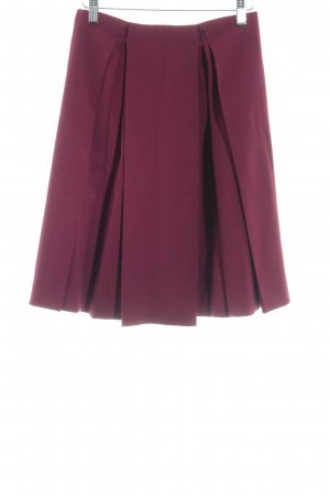 Emporio Armani Plaid Skirt carmine elegant