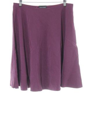 Emporio Armani Jupe évasée violet style décontracté