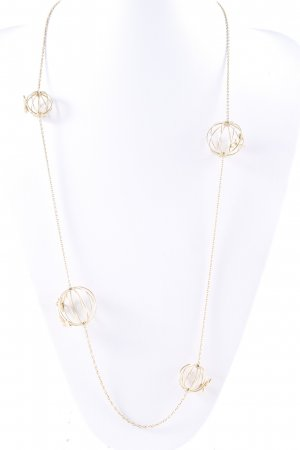 Emporio Armani Gouden ketting goud extravagante stijl