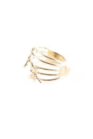 Emporio Armani Goldring goldfarben Elegant