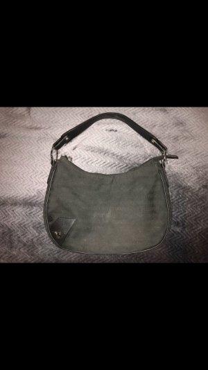 Emporio Armani Handtasche Abendtasche Schwarz