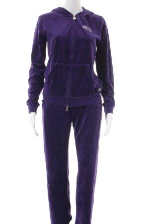 Emporio Armani Hausanzug dunkelviolett sportlicher Stil