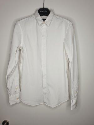 Emporio Armani Shirt met lange mouwen wit