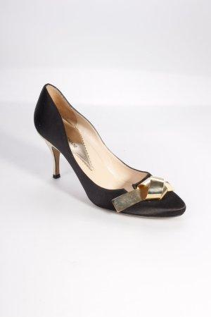 Emporio Armani High Heels mit Schleife
