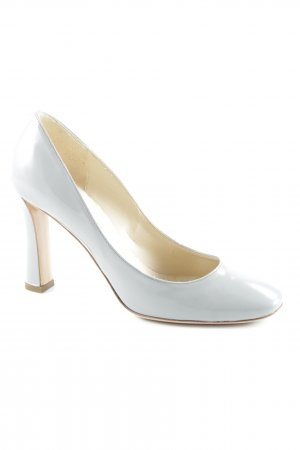 Emporio Armani Hochfront-Pumps grau Business-Look