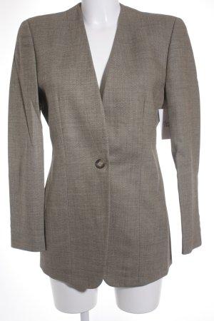 Emporio Armani Tailleur pantalone marrone-grigio-marrone scuro