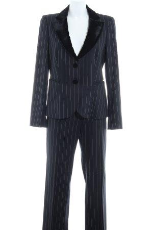 Emporio Armani Traje de pantalón estampado a rayas estilo «business»
