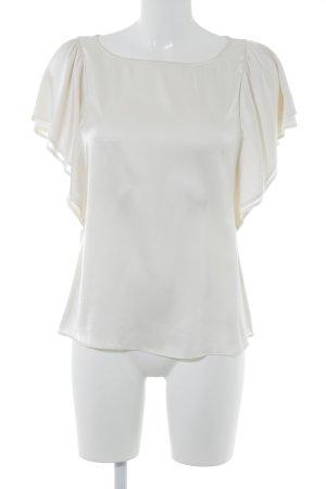 Emporio Armani Kurzarm-Bluse creme Elegant