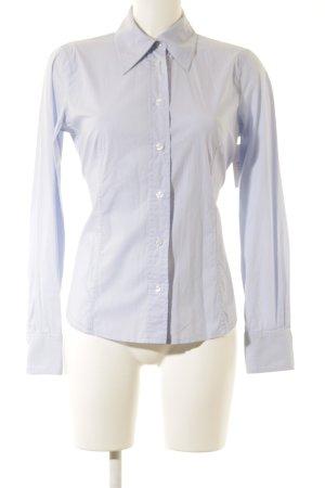 Emporio Armani Shirt met lange mouwen lichtblauw-wit gestreept patroon