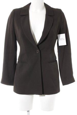 Emporio Armani Long-Blazer taupe Business-Look