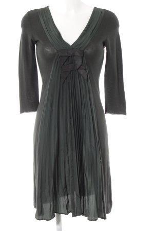 Emporio Armani Midikleid dunkelgrün Elegant
