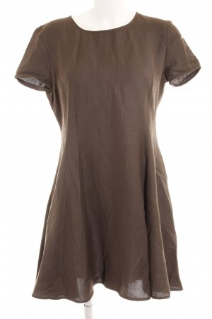 Emporio Armani Minikleid graubraun Casual-Look