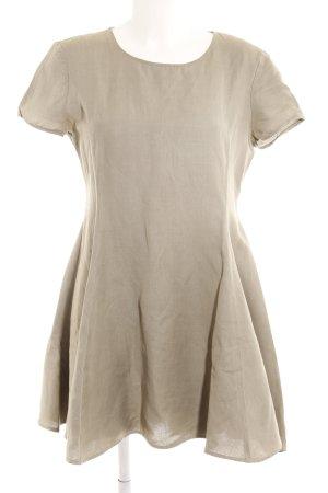 Emporio Armani Minikleid graugrün Casual-Look