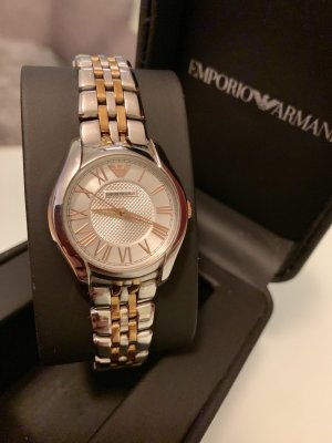 Emporio Armani Analog Watch silver-colored-rose-gold-coloured stainless steel