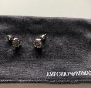 Emporio Armani Zarcillo color plata